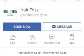 Setmore booking application via Facebook